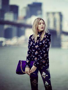 Elizabeth Olsen for Vogue. TopShelfClothes.com