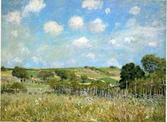 Alfred Sisley  - for more inspiration visit http://pinterest.com/franpestel/boards/