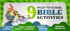 Sunday School Lessons | Bible Games | Activities for Children's Church