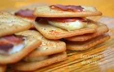 Les recettes de Nathou: Trucs Tuc au lard fumé et au Brie