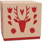 deer treat box with lid