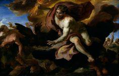 Johann Michael Rottmayr (1654-1730) – Jove casts his thunderbolts at the rebellious giants – c.1690-1695.