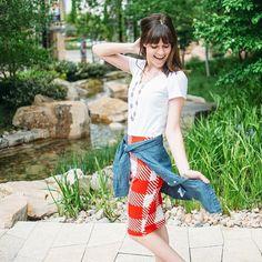 Cutest LuLaRoe skirt ever!