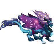 Cosmo Dragon-----Dragon City