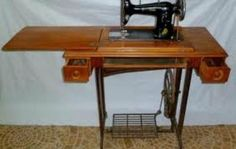 Ideas para pie de máquina de coser