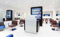 salon decor | Interior design for a beauty salon | Interior Design Ideas