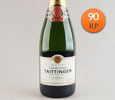 Indiscutível: Champagne Taittinger Brut Réserve #vinho #espumante #champagne #taittinger #desconto #reveillon #robertparker
