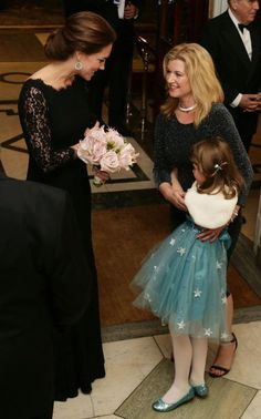 The Duchess of Cambridge at Royal Variety Performance