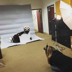 We had so much fun with @ozzieunf at this photo shoot today. Nobody can strike a pose like Ozzie. #swooplife #unf