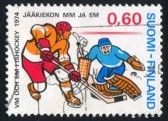 stamp printed by Finland, shows Ice