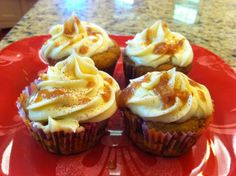Chloe's Award-Winning Ginger Nutmeg Spice Cupcakes  **Amazing! Tested by LY**