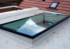 Oberlichter Flachdach flachdachfenster oberlicht festverglast oberlichter