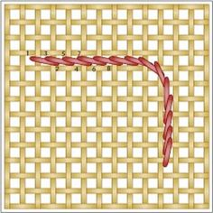 Learn how to Make the Outline & Backstitch in This Needlepoint Wiki: What Is the Outline Stitch in Needlepoint & How Is It Made?