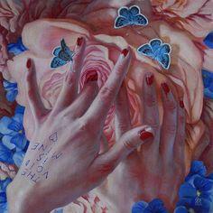 'The Void/Flowers if Life' by Jana Brike @janabrike… http://ift.tt/2bxPFtt @ModernEden