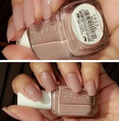 "Essie polish ""Lady Like""… that seems appropriate! Essie polish ""Lady Like""… that seems appropriate! Neutral Nails, Nude Nails, My Nails, Fingernails Painted, Essie Polish, Colorful Nail Designs, Nagel Gel, Manicure And Pedicure, Nails Inspiration"