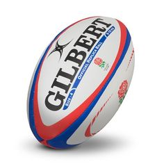 Gilbert Replica Rugby Ball - Size 4: Gilbert England Replica Rugby Ball - Size 4 - White Whether for having a kick about with friends or…