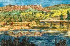 landscape art quilts - Google Search