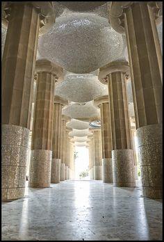 Gaudi's pillars by odin's_raven, via Flickr