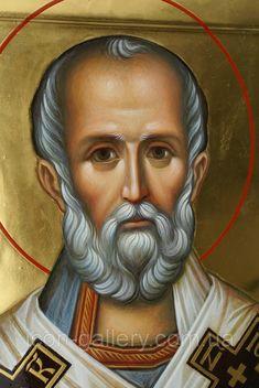Saint Nicholas, Art Icon, Faces, Icons, Portrait, Headshot Photography, Symbols, The Face, Portrait Paintings