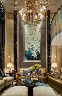 张雷设计-武汉南湖玫瑰湾别墅样板房 - ...