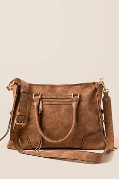 ad5ffe67d2b Kari Distressed Satchel - cognc-cl Women s Accessories, Fashion Bags,  Satchel, Purses