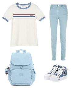"""""""Untitled #36"""" by fawn98 on Polyvore featuring RVCA, Solejoy, Armani Jeans and Kipling"""