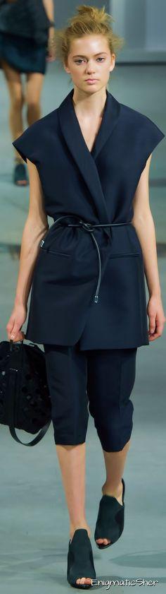 #Farbbberatung #Stilberatung #Farbenreich mit www.farben-reich.com 3.1 Phillip Lim Spring Summer 2015 Ready-To-Wear