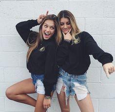 best, besties, fashion, friendhip, friends, goals, pretty, relationship, summer, twins, matchy, relationship goals, friendship goals, bestfriend goals, bestfriend