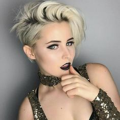 """3,406 Likes, 78 Comments - Short Hairstyles Pixie Cut (@nothingbutpixies) on Instagram: """"@emilyandersonstyling with great new style"""""""