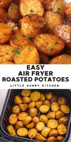 Air Fryer Oven Recipes, Air Fry Recipes, Air Fryer Dinner Recipes, Cooking Recipes, Air Fryer Chicken Recipes, Air Fryer Recipes Videos, Easy Cooking, Air Fryer Cooking Times, Air Fried Food
