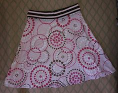 Pink Laundry Shelli Segal Circle Dot Skirt Sz 4 #Laundry #ALine