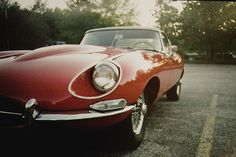 Jaguar E-type, the sexiest car ever produced.
