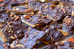 Homemade English Toffee- used almonds and pecans