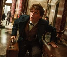 Image of Eddie Redmayne in Fantastic Beasts and Where to Find Them