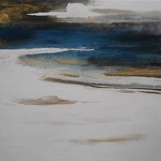 """Conny Niehoff, """"Winter an der See""""  With a click on """"Send as art card"""", you can send this art work to your friends - for free!"""