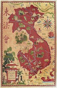 Indochine française by Lucien Boucher