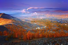 Autumn at Mordor - Вчера встретил осень в самом грязном городе мира (по версии ЮНЕСКО) - в Карабаше, Южный Урал, Россия. --------------------- Yesterday we met the autumn at the most polluted town of the world - Karabash (according UNESCO), South Urals, Russia