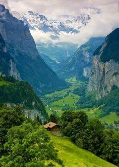Интерлакен, Швейцария