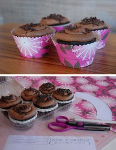 Envoltorios para cupcakes