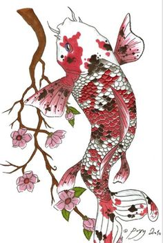 Tattoos koi