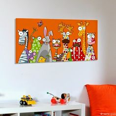 Trendy Wall Painting Children For Kids Ideas Painting For Kids, Painting & Drawing, Art For Kids, Crafts For Kids, Pintura Graffiti, Art Fantaisiste, Art Mignon, Whimsical Art, Painting Inspiration