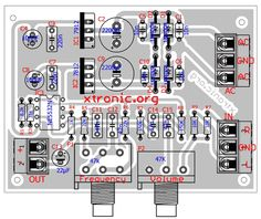 bass filter pci layout pre amplifier Circuits Audio Amplifier circuit automotive audio amplifier Circuit adjustable bass filter from 50 Hz to 150 Hz Electronic Circuit Design, Electronic Kits, Diy Electronics, Electronics Projects, Diy Subwoofer, Power Supply Circuit, Simple Circuit, Crossover, Stereo Amplifier