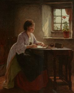 Haynes King (1831-1904) - The Letter