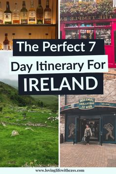 Start crossing off your travel bucket list today with this guide to Ireland. Discover everything you need to know to enjoy the perfect Ireland Itinerary. This guide will help you to travel Ireland and give you idea's of things to do in Ireland besides drink in Ireland's many pubs. #ireland #exploreireland #travelireland Travel Articles, Travel Advice, Travel Guides, Europe Destinations, Europe Travel Tips, Travel Plan, Travel Goals, Ireland Travel Guide, Europe Holidays