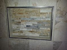 Stone Recessed Niche New Toilet, Bathroom Renovations, Brisbane, Stone, Frame, Home Decor, Picture Frame, Rock, A Frame
