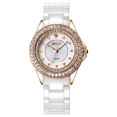 47.00$  Buy now - http://alizzz.worldwells.pw/go.php?t=32670122120 - WEIQIN Rhinestone Wrist Watch Women Luxury Brand Gold Ladies Watch Relojes Mujer 2016 Analog Quartz Watch Relogios Feminino 47.00$