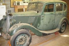 """""""Eight"""" Up With Cuteness: 1938 Morris 8 - http://barnfinds.com/eight-up-with-cuteness-1938-morris-8/"""