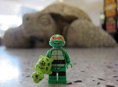 LEGO Turtle Trio
