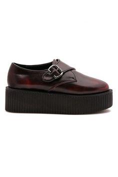 ROMWE   ROMWE Buckled Platform Shoes, The Latest Street Fashion