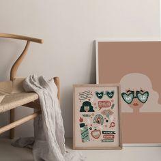 Home – Paper Edited Paper, Illustration, Prints, Furniture, Home Decor, Illustrations, Interior Design, Home Interior Design, Printmaking